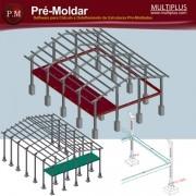 Treinamento Presencial do Software PRE-Moldar, com duração de 8 horas, no Centro de Treinamento da MULTIPLUS, na Praça da República 386 6º andar São Paulo- SP