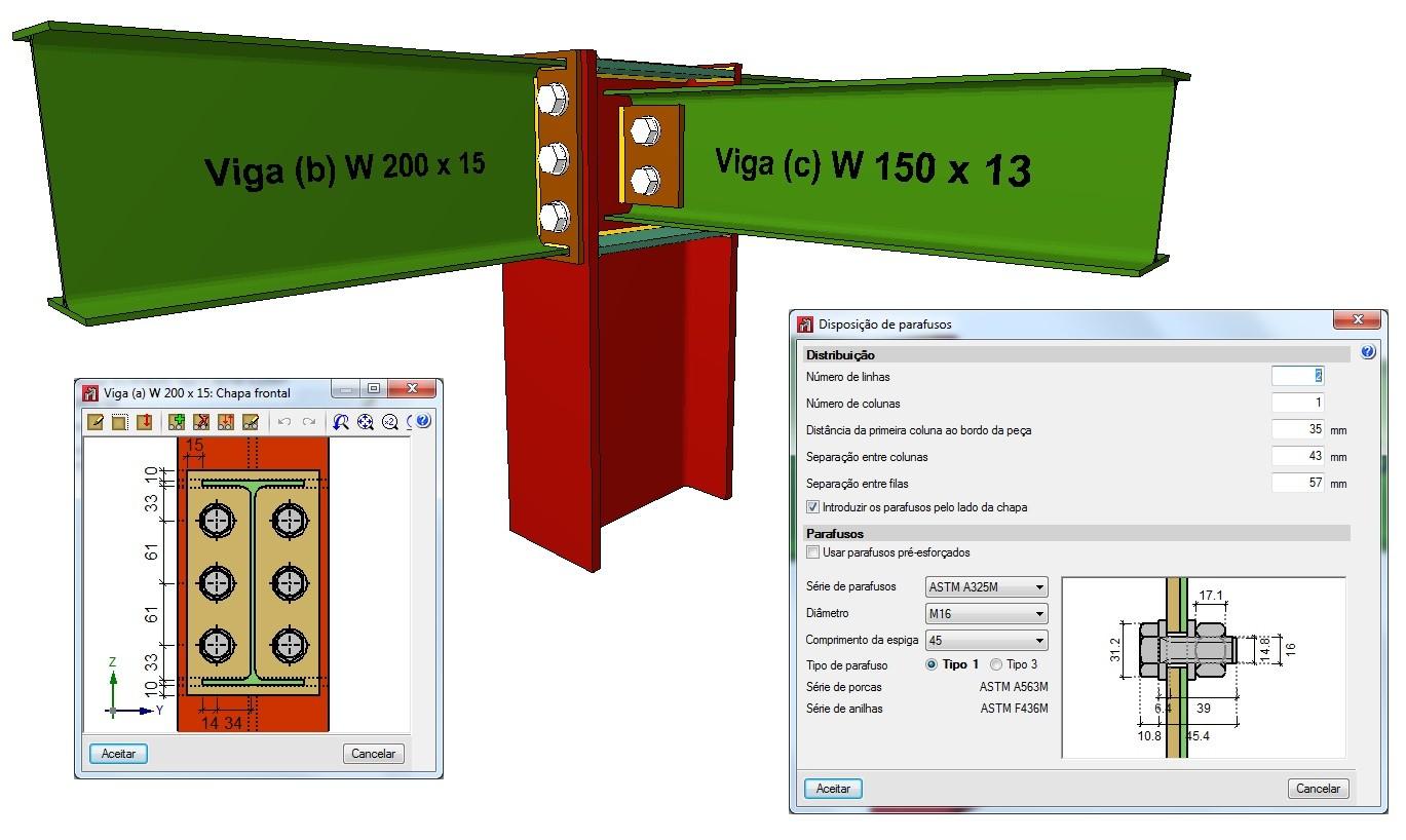 Curso à Distância via Skype sobre Cálculo de Mezanino Metálico e suas Ligações - 30/08/18 das 19:00 às 23:00 hrs, com duração de 4 horas (utilizando os softwares CYPECAD, e METÁLICAS 3D)