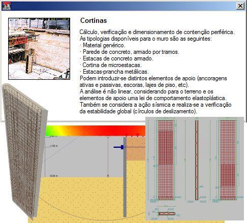 Curso Presencial do Software Cortinas Atirantadas,  com duração de 8 horas, no Centro de Treinamento da MULTIPLUS, na Praça da República 386 6º andar São Paulo- SP