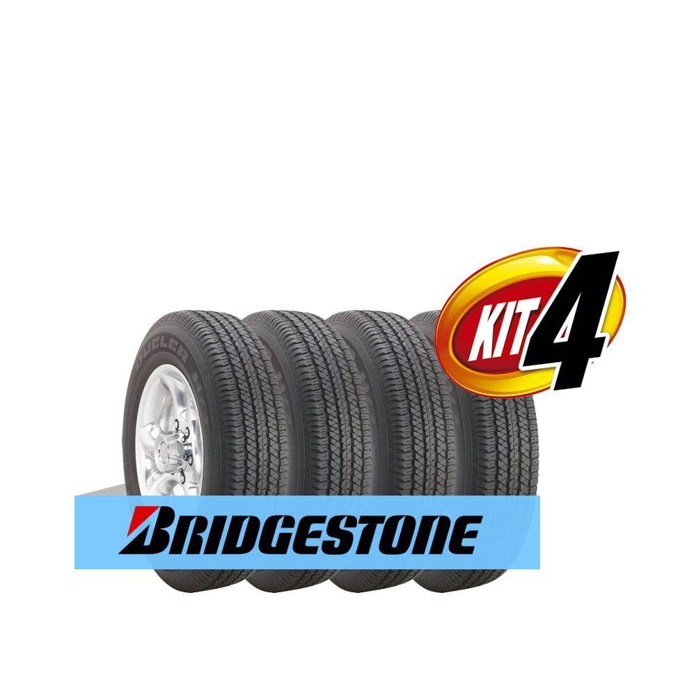 0fd45f4b5 Kit Pneu Bridgestone Aro 16 215 65R16 Dueler H T 684 II 102H 4 Un ...