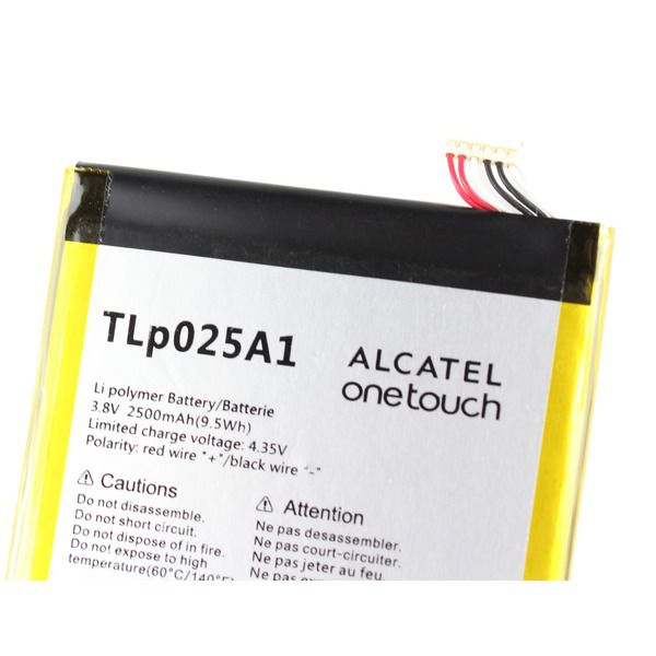 Bateira Alcatel One Touch Pop C9 Ot-7047 Tlp025a1 3.8v 2500mah