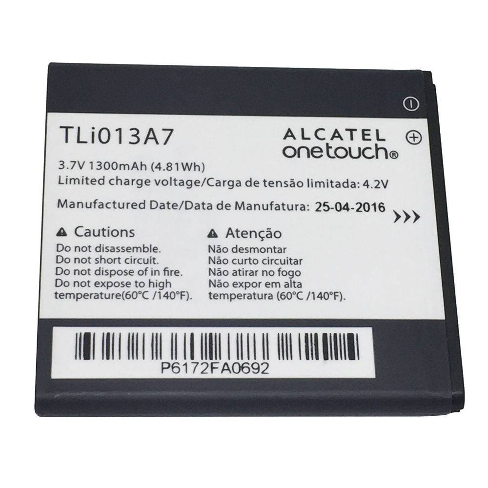 Bateria Celular Alcatel Onetouch Pixi 4 4017f Tli013a7