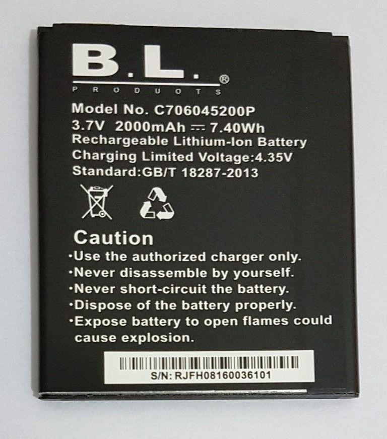 Bateria Celular Blu - BL C706045200p Studio C 5.5 Lte Dash X D010u D010l