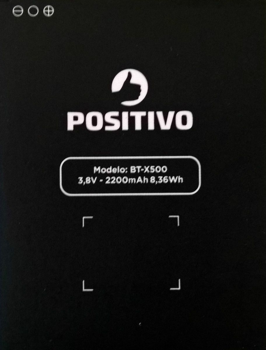 Bateria Do Celular Positivo Next X500 Bt-x500