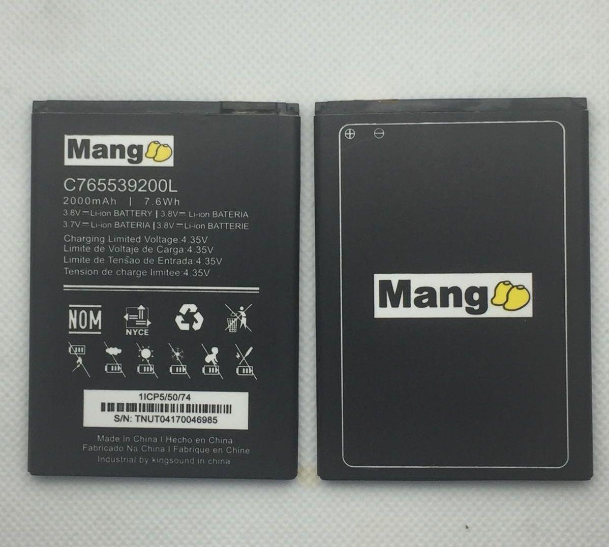 Bateria Mang C765539200l 2000mah Blu Studio X8 Hd S530