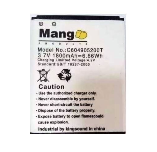 Bateria Mang Celular Blu Dash 4.5 D310 D310a D310i D310u D310 C604905200t
