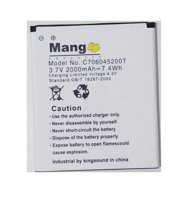 Bateria Mang Celular Blu Studio 5.0 D530 D530i C706045200t
