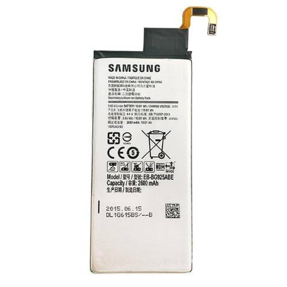 Bateria Samsung EB-BG925ABE Galaxy S6 Edge SM-G925 G925
