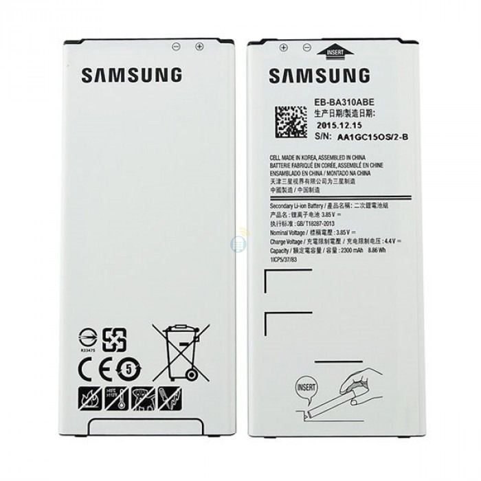 Bateria Samsung Galáxy A3 2016 A310 EB-BA310ABE