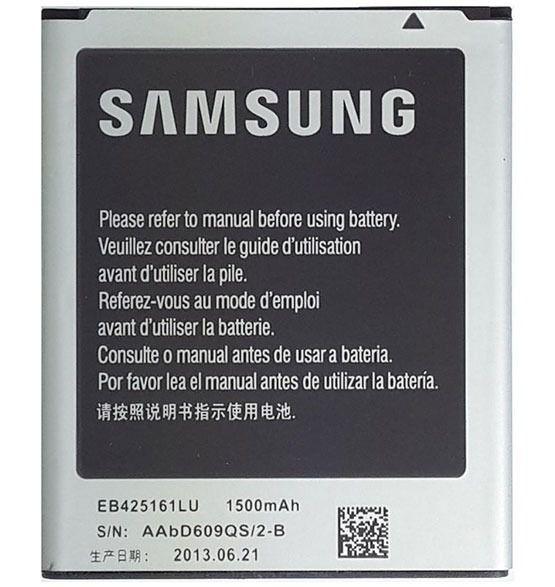 Bateria Samsung Galaxy S3 Mini Gt-i8190 / S Duos Gt-s7562 S7582 Eb425161lu