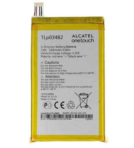 Bateria Tlp034b2 Celular Alcatel One Touch Pop S9 Ot-8020x