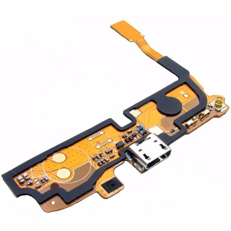 43e6338f89c Cabo Flex Flat Dock Conector Carga USB Samsung Galaxy Note 1 N7000 I9220