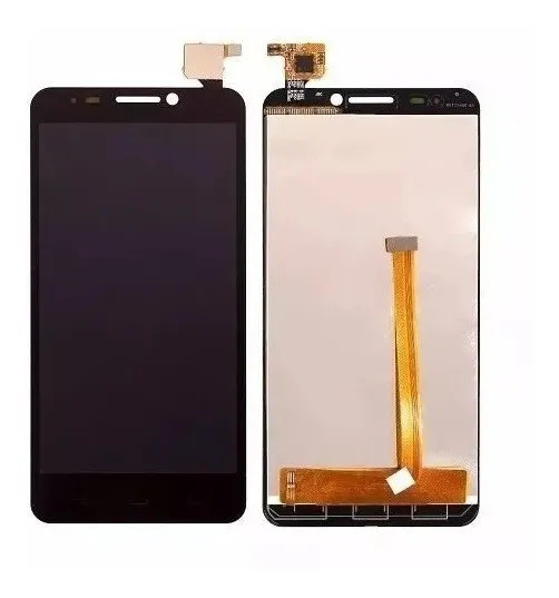 Frontal Tela Touch Display Lcd   Alcatel One Touch Idol 6030n Preto