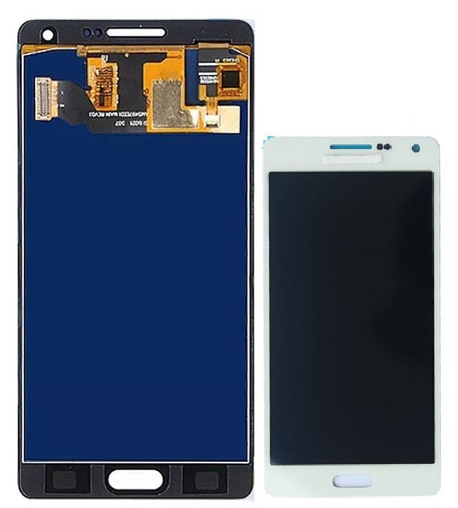 Frontal Tela Touch Display Lcd     Galaxy tela touch a5 a500 sm a500 BRANCO