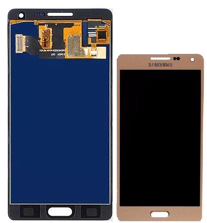 Frontal Tela Touch Display Lcd  Galaxy tela touch a5 a500 sm a500 DOURADO