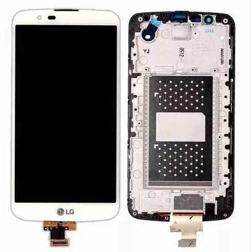 Frontal Tela Touch Display Lcd Lg K10 k430 Versão Li530hz1a Fpc V02 C/ tv sem C.I BRANCO