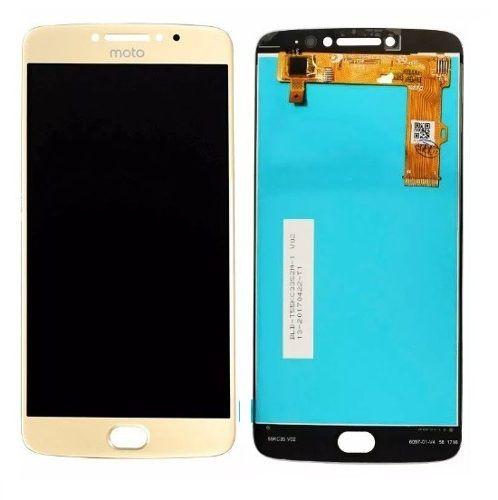 Frontal Tela Touch Display Lcd    Moto E4 Plus Xt1770 Xt1773 DOURADO