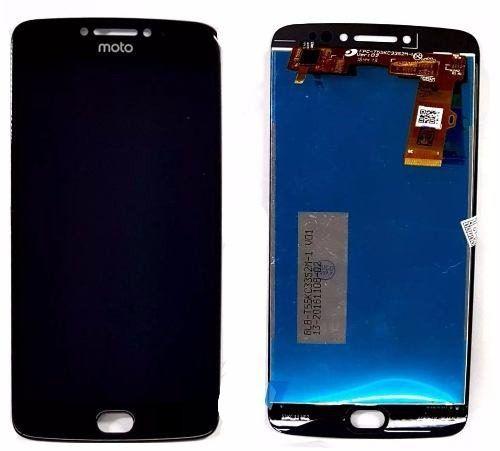 Frontal Tela Touch Display Lcd    Moto E4 Plus Xt1770 Xt1773 PRETO