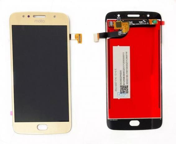 Frontal Tela Touch Display Lcd Moto G5s Xt1793 Xt1794 Xt1792 DOURADO