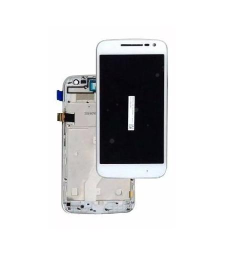 Frontal Tela Touch Display Lcd Motorola Moto G4 Play Xt1600 Xt1603 C/Aro BRANCO