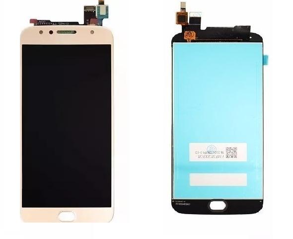 Frontal Tela Touch Display Lcd Motorola Moto G5s Plus Xt1802 Xt1803 Xt1805 Xt1806 DOURADO
