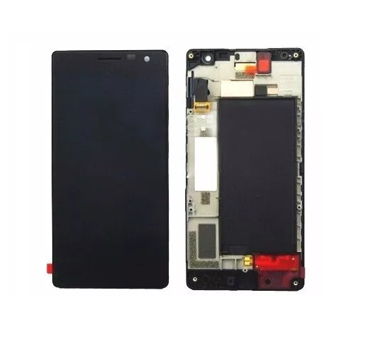 Frontal Tela Touch Display Lcd Nokia Lumia 730 N730 N735 735 c/ aro PRETO