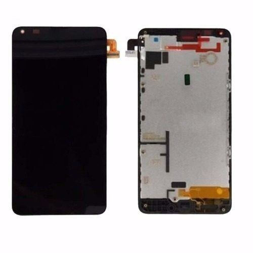 Frontal Tela Touch Display Lcd  Nokia Lumia N640 640 Rm1109 PRETO