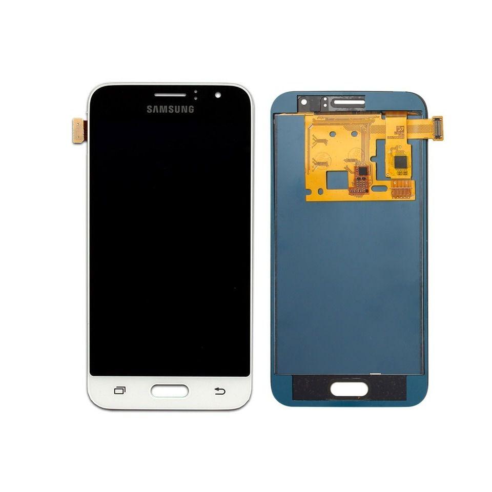 Frontal Tela Touch Display Lcd Samsung Galaxy J1 J120 2016 j120 BRANCO