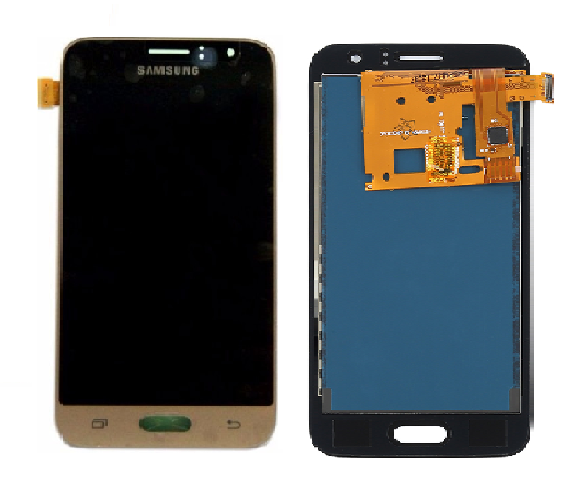 Frontal Tela Touch Display Lcd Samsung Galaxy J1 J120 2016 j120 DOURADO