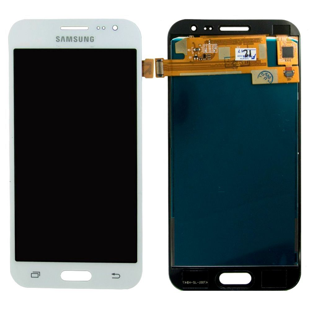 Frontal Tela Touch Display Lcd Samsung Galaxy J2 J200  BRANCO