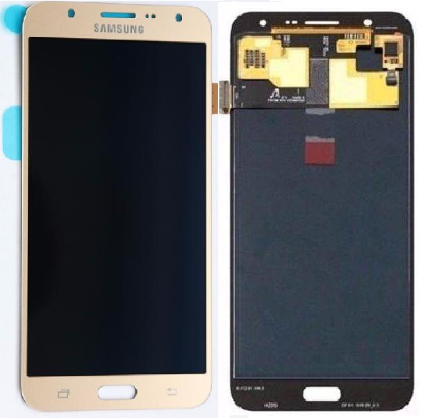 Frontal Tela Touch Display Lcd Samsung J7 J700 Sm-j700m DOURADO