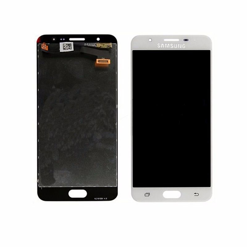 Frontal Tela Touch Display Lcd     Samsung  J7 Prime G610 Sm-g610m Sm-g610m/ds Com flash Frontal BRANCO