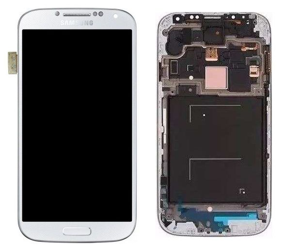 Frontal Tela Touch Display Samsung Galaxy S4 Lte Gt-i9505 Gt-i9515l BRANCO
