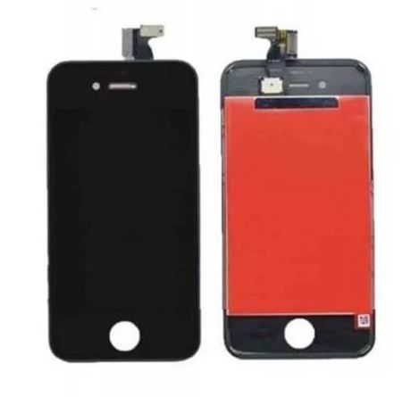 Tela Display Lcd Frontal Touch Screen Iphone 4 4G A1349 A1332 Preto