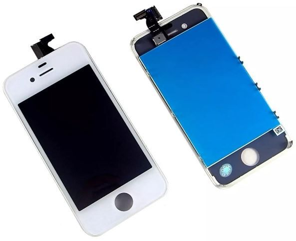 Tela Display Lcd Frontal Touch Screen Iphone 4S A1431 A1387 Branco