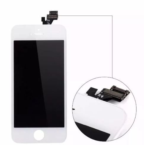 Tela Touch Screen Display Lcd Frontal Iphone 5 5g A1429 A1442 A1428 Branco