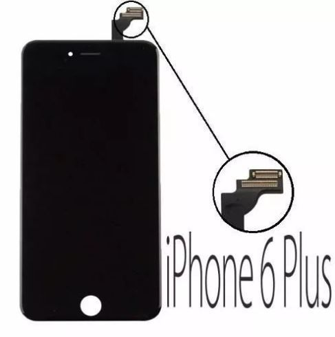 Tela Touch Screen Display Lcd Frontal Iphone 6 6g Plus 5.5 Preto