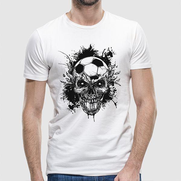 Camiseta - Skull And Bola