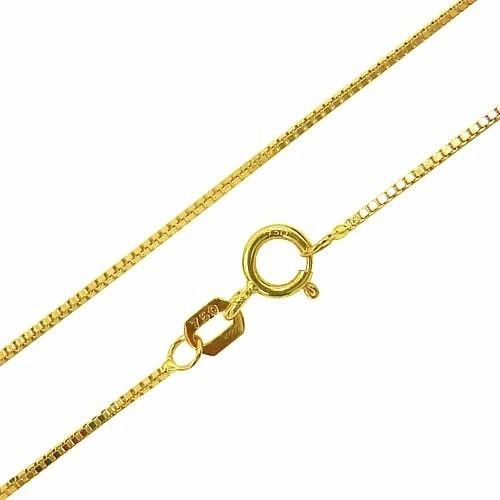Corrente De Ouro 18k Gargantilha Veneziana 40cm -viagold C40 - VIAGOLD  JOIAS ... 088d8958d6