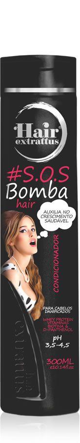 Condicionador #S.O.S. Bomba Hair - 300ml