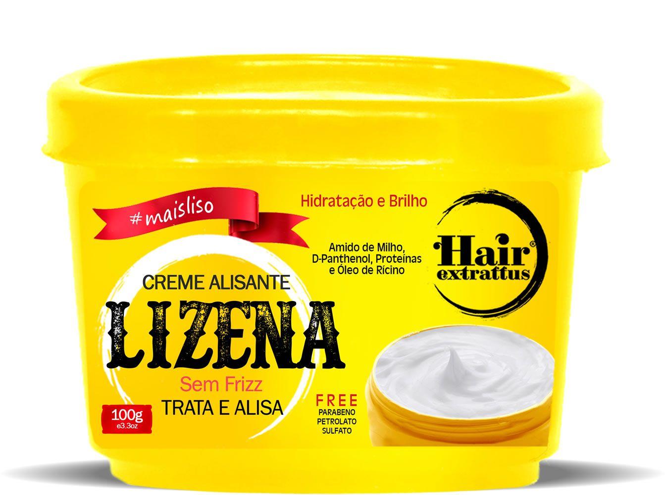 Creme Alisante Lizena - 100g