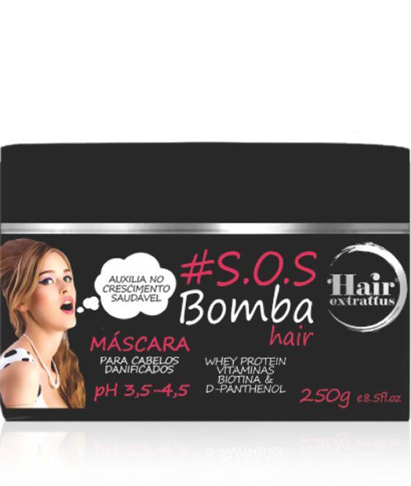 Máscara #S.O.S. Bomba Hair - 250g