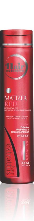 Shampoo Matizer Red - 300ml