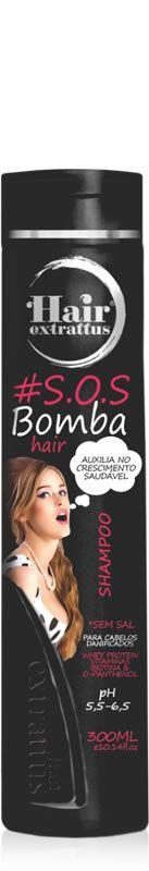 Shampoo #S.O.S. Bomba Hair - 300ml