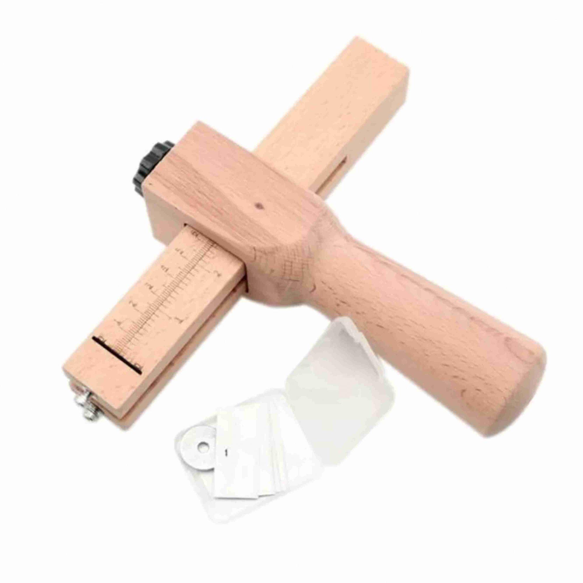 Cortador de tiras de couro manual