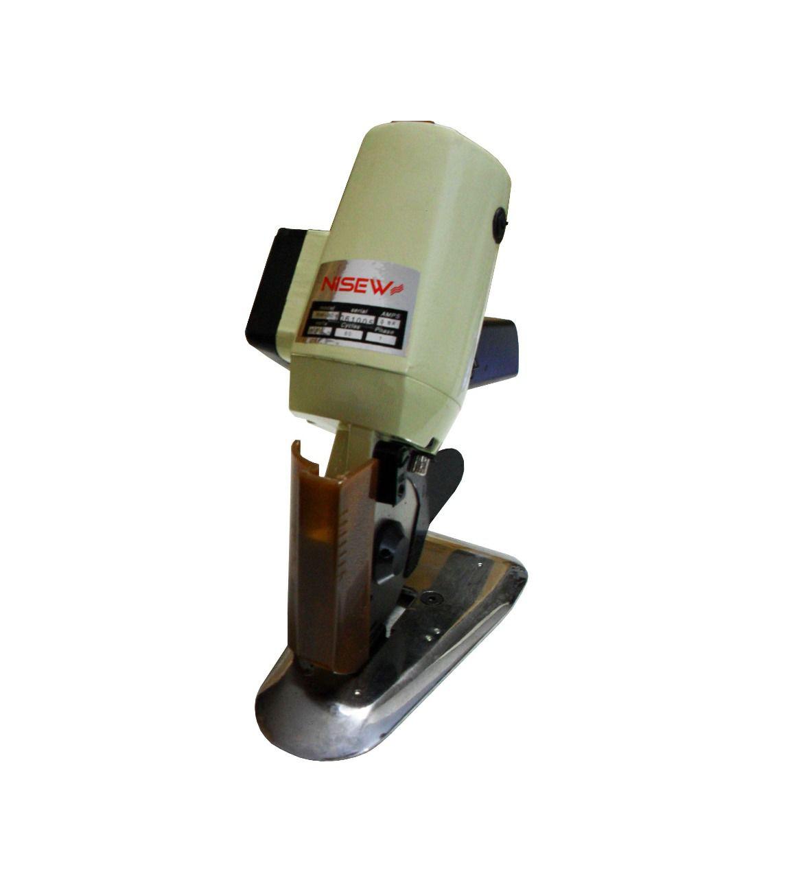Maquina de cortar tecidos 3 polegadas com afiador automatico