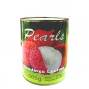 Lichia sem Semente em Calda Doce - Pearls 230gramas (drenado)