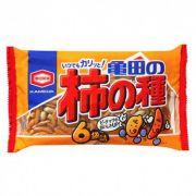Salgadinho de arroz sabor shoyu (com amendoim) 6 pacotes-200g