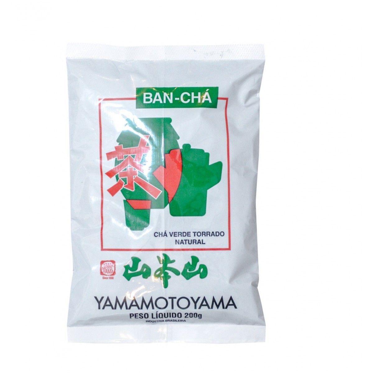 Chá Verde Torrado Natural Ban-Cha - Yamamotoyama 200g