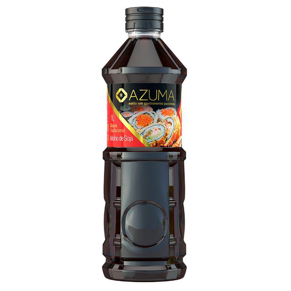Molho de Soja Shoyu Tradicional Azuma Kirin - 1000 ml